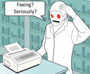Questioning Faxing Altogether on Reddit