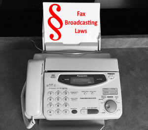 Fax Boradcasting Law