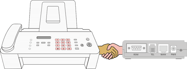 Faxing Over VoIP With Adapter
