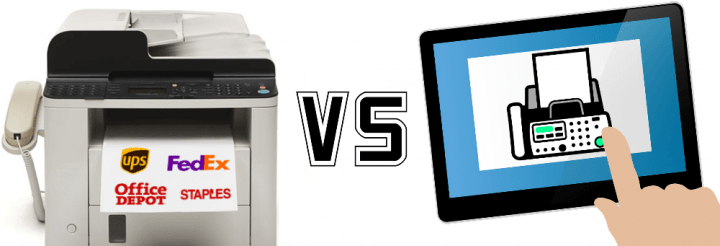 Local Fax Centers vs Online Faxing Services