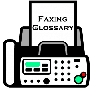 Online Faxing Glossary