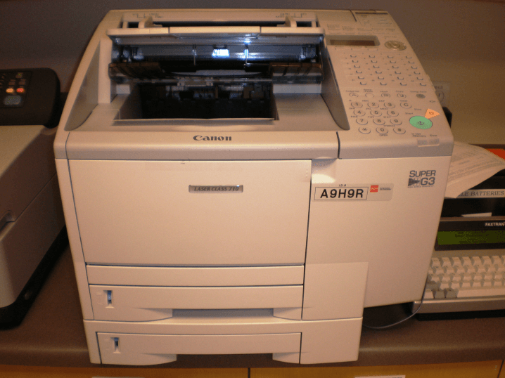 Fax Machine as Printer