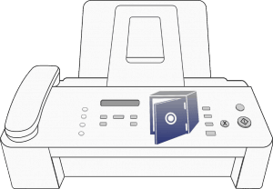 Fax Machine as Safe
